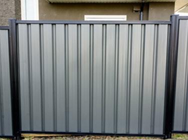 metal fence Kamloops