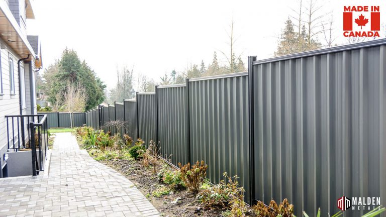 privacy metal fence security fencing