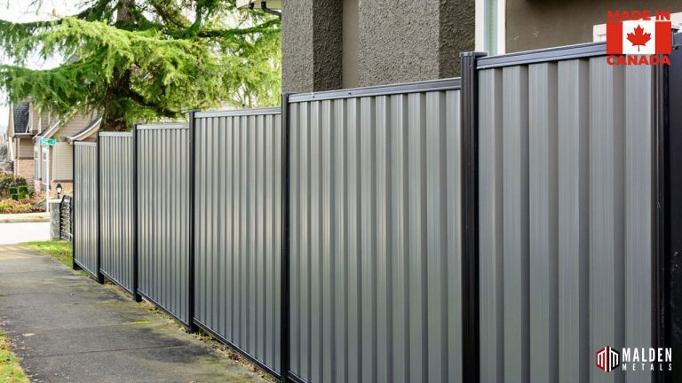 security fencing privacy metal fence